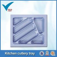 Buy cheap Kitchen drawer plastic cutlery tray product