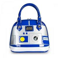 Buy cheap STAR WARS STAR WARS R2D2 PATENT EMBOSSED BAG BY LOUNGEFLY product