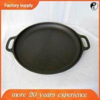 Buy cheap High Quality Wholesale Grill pan , japanese cast iron cookware with two handle product