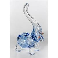 China Elephant Glass Pipe, Blue wholesale