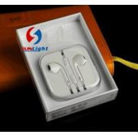 China PRODUCT Original Headphone for iPhone 5 with Mic and Volume Control on sale