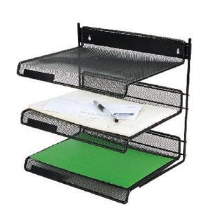 Quality 3-TIER metal mesh file tray for sale