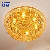 China Gold Crystal Lighting Chandelier wholesale