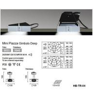 Buy cheap Mini Piazza Trimless downlight product