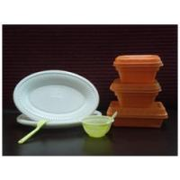 Oxo-biodegradable tableware
