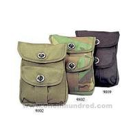 Buy cheap Advertising Material Olive Drab - Canvas two-pocket ammo pouches. from wholesalers