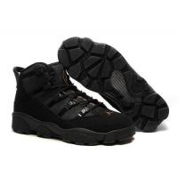 air 6 rings hiking shoes all black 40161079