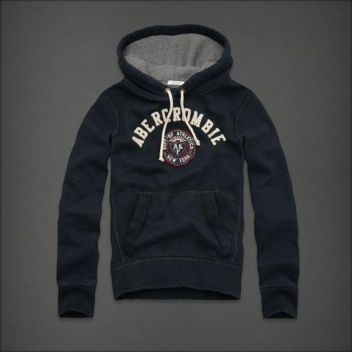 Quality A&F Men Hoodies 111# $32.00 for sale