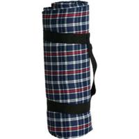 China Water Resistant Picnic Blanket - Red/White/Blue PlaidItem #: 240115 on sale