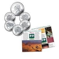 China U.S. National Parks Quarters Coin CollectionModel # CT45266 on sale