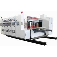 Buy cheap GSYM2610 Type four color high speed flexo printing slotting and rotary die cutting machine product