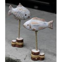 Buy cheap 820365 Wooden fish decoration product