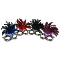 Buy cheap Feather Masquerade Masks from wholesalers
