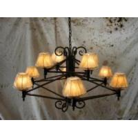 Iron Chandelier-Two Tiers