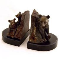 Buy cheap Bear Bookends Lodge Bear Family Bookends from wholesalers
