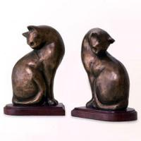 Buy cheap Animal Bookends Nature's Whimsy Cat Bookends from wholesalers