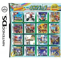 Buy cheap WholeSale 3Pieces/Lot, 482-in-1 Super Game Card 64GB Multi Games Card for Nintendo DS DS Lite product