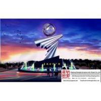 China Grand Contemporary Light Sculpture on sale