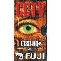 CCTV - FUJI VHS HQ-Plus Video Cassette E180