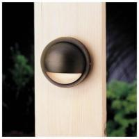 China Kichler 15064 Half Moon Low Voltage Deck & Patio Light from the Six Groove Collection wholesale