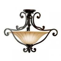 Buy cheap Kichler 3758 Renaissance Two Light Semi-Flush Ceiling Fixture from the Cottage Grove Collection product