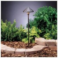 China Kichler 15326 Center Mount 24.4W Low Voltage Path & Spread Light from the Six Groove Collection wholesale