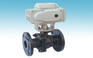 Quality Flange Electric ball valve for sale
