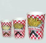 Buy cheap French Fry Supplies French Fry Cups 3 sizes product