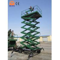 Buy cheap Trailing scissor lift platform product