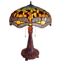 Buy cheap Tiffany Table Lamps Gold Dragonfly Table Lamp - 26.5