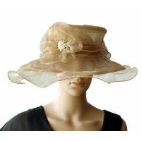 Buy cheap Organza Hats For Women in Champagne PB130412 from wholesalers