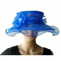 Buy cheap Organza Hats For Women in Blue PB130399 from wholesalers