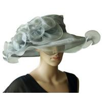 Buy cheap Organza Hats For Women in Grey P7075820 from wholesalers