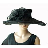 Buy cheap Organza Hats For Women in Black PC281196 from wholesalers