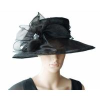 Buy cheap Organza Hats For Women in Black PB130321 from wholesalers