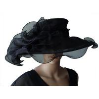 Buy cheap Organza Hats For Women in Black P7075827 from wholesalers