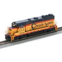 Buy cheap Static Railway Models (2) Athearn HO RTR GP35, CHESSIE/C&O #3524 Dcc Ready product