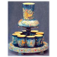 Buy cheap Judaica Oriental Tabletop Fountain Set product