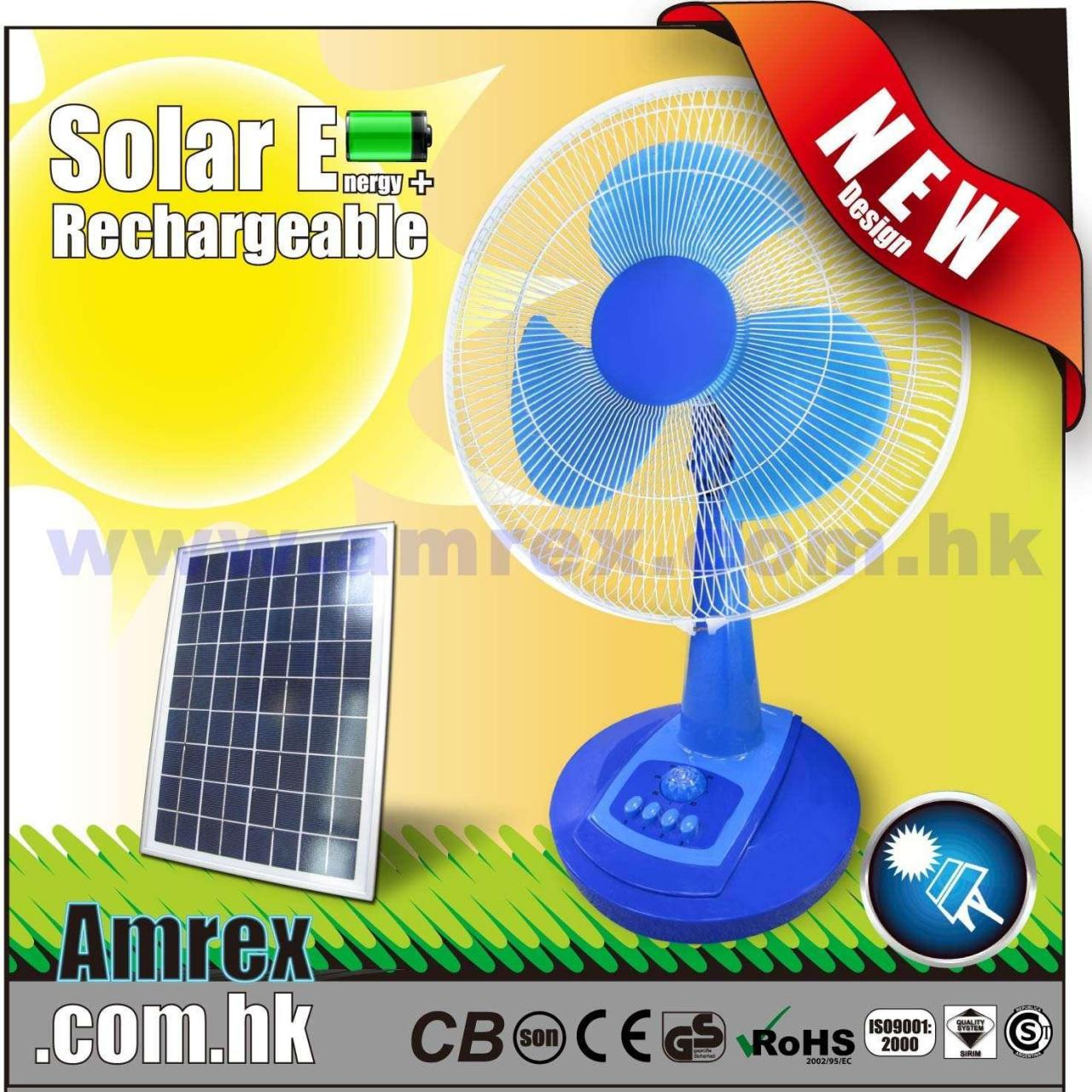 China 12 RECHARGEABLE DESK FAN (MODEL: AXTF-1-16SP) OTHERS on sale