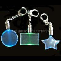 China LED Torch lighted keychain on sale