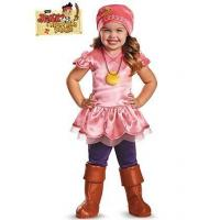 China Girls Costumes Izzy from Jake and the Neverland Pirate Deluxe Toddler Costume on sale