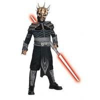 China Girls Costumes Boys Deluxe Star Wars Savage Opress Costume on sale