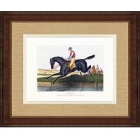 China Hand Colored Equestrian I wholesale