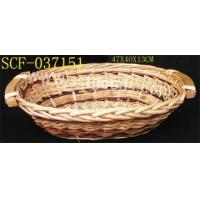 Buy cheap Willow basketray SCF-037151 from wholesalers