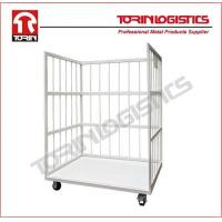 Buy cheap Hand Cart Moving Transport Warehouse Wire Rolling Security Cage product