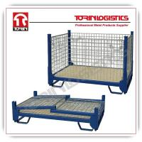China powder coated and heavy duty wire mesh containers (L1370*W905 mm/OEM) wholesale