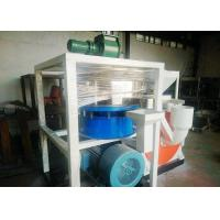 Dust Free Plastic Scrap Cutting Machine 410mm Motor With Wind Conveying