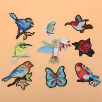 High Quality OEM ODM Service Custom Embroidery Sequin Patch for clothes,bags
