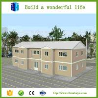 2017 export low cost wooden prefabricated house
