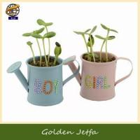 DIY seed planter garden watering can for Halloween gift